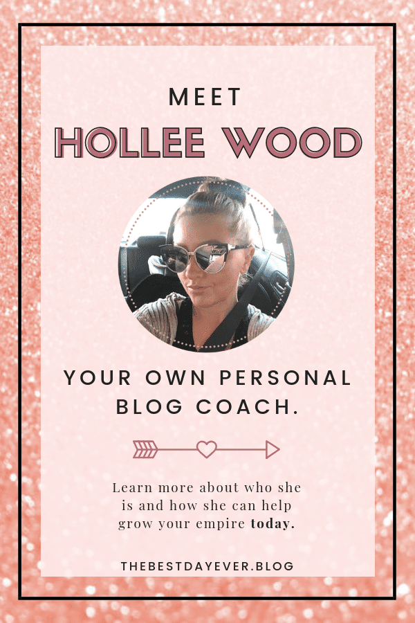 What do you want to see more of?  Shoot Hollee an email and let her know how she can help you! Your feedback is highly valued with TheBestDayEver Blog!  #Blogging #BloggingTips #Feedback #BlogTips