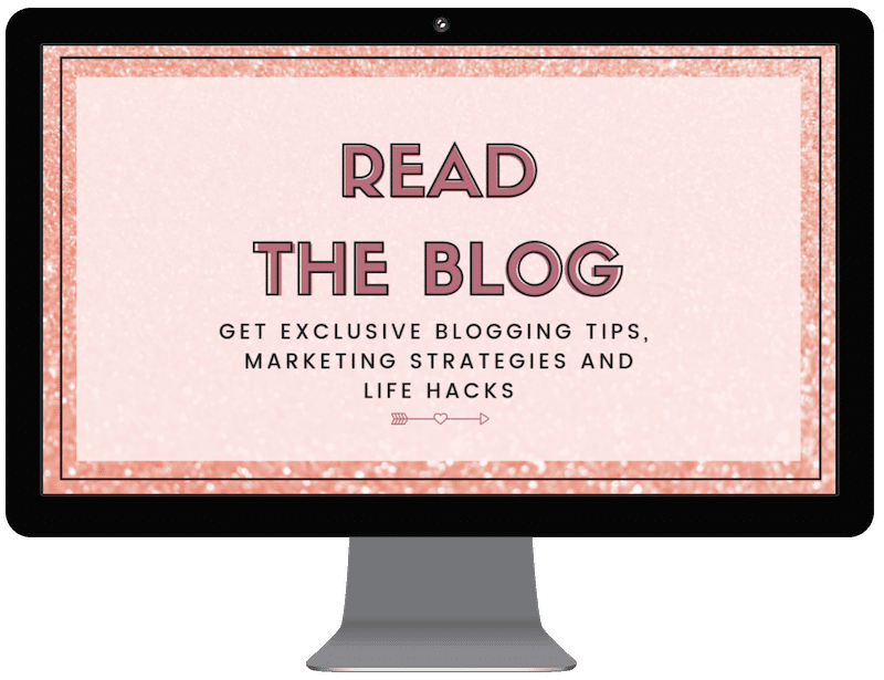Are you ready to change your life?! Learn how to make each day the best day ever with exclusive blogging tips, marketing strategies, life hacks and more...