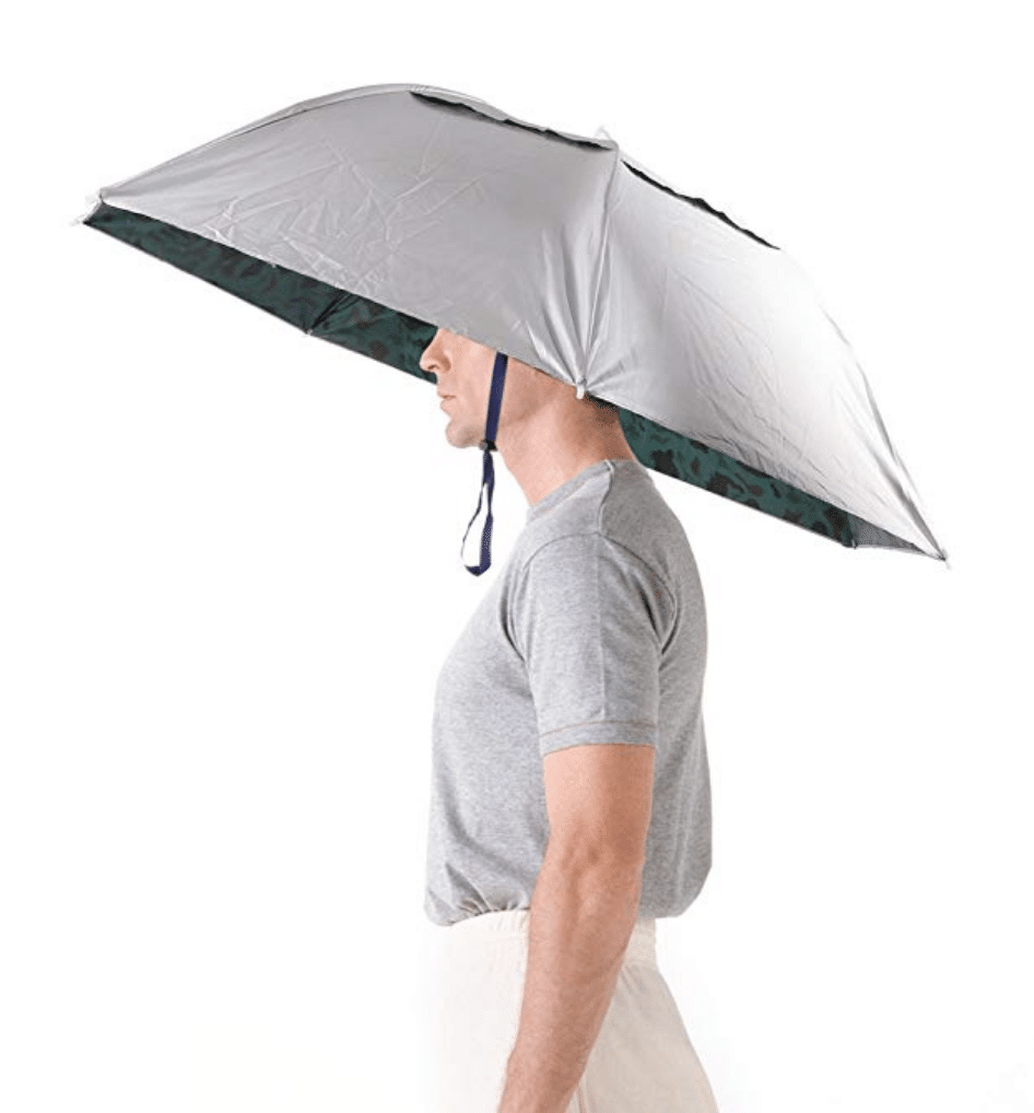 An umbrella hat? Yes, please! You have to check out these 25 incredibly bizarre Amazon products for sale on the mega-website.