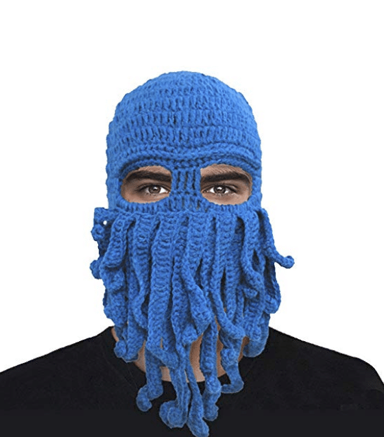A tentacle face mask? Yes, please! You have to check out these 25 incredibly bizarre Amazon products for sale on the mega-website.